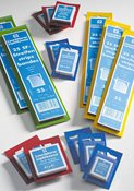 Liuskat/Sininen pakkaus - kirkas (50 pakkaus)