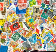 Netherlands - 100 different charity stamps