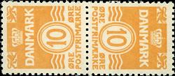 Danmark - AFA nr.3 - Tetebeche - Postfrisk