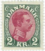 Danmark - AFA151 - Chr. X 1925-26 - Postfrisk