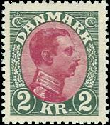 Denmark Chr. X 1925-26 AFA no. 151 mint