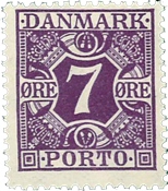 Danmark Porto 1930 - AFA nr. 21 - Postfrisk
