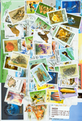 Azerbaijan - 57 different stamps and 11 souvenir sheets