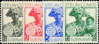 Suriname 1931 - Nr. 146-149 - Ongebruikt