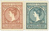 Curacao 1906 - Nr. 42-43 - Ongebruikt