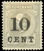 Suriname 1898 - Nr. 30 - Ongebruikt