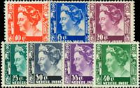 Nederlands Indië 1938-1940 - Nr. 253-259 - Ongebruikt