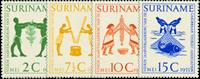 Suriname - Nr. 317-320 - Postfris