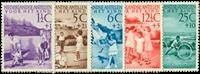 Nederland 1951 - Nr. 234-238 - postfris