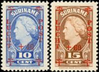 Suriname - Nr. LP27-LP28 - Postfris
