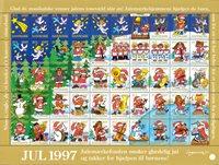 Denemarken - Kerstzegels 1997