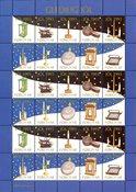 Vignettes de Noel Féroé 1993 Lanternes et lampes