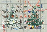 Danmark jul 1961 foldet