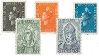 Holland 1938+1939 - NVPH 310-312+323-324 - Ubrugt