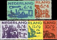 Nederland 1959 - Nr. 722-726 - Gebruikt