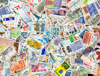 Denmark - Stamp packet - 487 different
