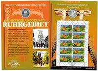Allemagne - Carte numismatique - Région Ruhr - PNC