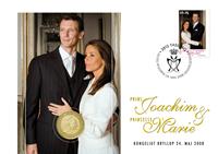Bryllupsmøntbrev - Marie & Joachim