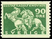 Suède Facit 237 1932 Roi Gustaf II mort Adolf/Lützen