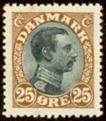 Denmark letter press - AFA no. 101