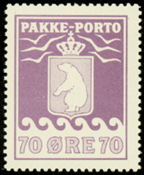 Grønland - Pakkeporto - AFA nr. 13 postfrisk