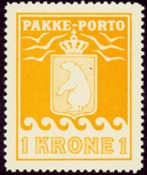Grønland - Pakkeporto - AFA nr. 14 postfrisk