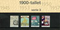 Danmark - 1900-tallet serie 3. Souvenirmappe