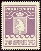 Grønland - Pakkeporto - AFA nr. 17 postfrisk