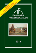 AFA stamp catalogue - Denmark 2013