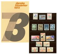 Danemark - Collection ann. 1973