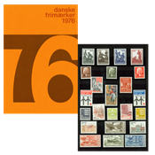 Danemark - Collection ann. 1976