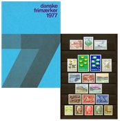 Danemark - Collection ann. 1977