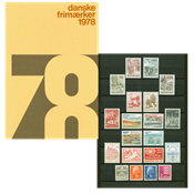 Danemark - Collection ann. 1978