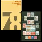 Danmark - Årsmappe 1978