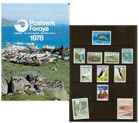 Îles Féroé - Collection ann. 1978