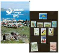 Îles Féroé - Collection ann. 1978