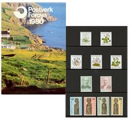 Îles Féroé - Collection annuelle 1980