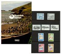 Îles Féroé - Collection ann. 1982