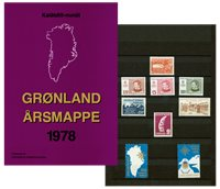 Groenland  - Collection ann. 1978