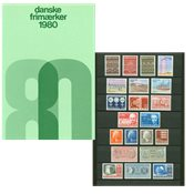 Danemark - Collection ann. 1980