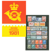 Danemark - Collection ann. 1981