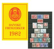 Danemark - Collection ann. 1982