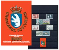 Grønland - Årsmappe 1985