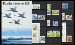 Danmark - Årsmappe 1986