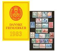 DANEMARK SERIE ANNUELLE 1983