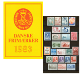 Danmark - Årsmappe 1983