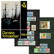 DANEMARK COLLECTION ANNUELLE 1984