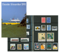 DANEMARK SERIE ANNUELLE 1991