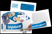 LAPE-lahjakortti - 15 euroa