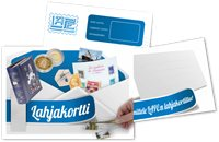 LAPE-lahjakortti - 60 euroa